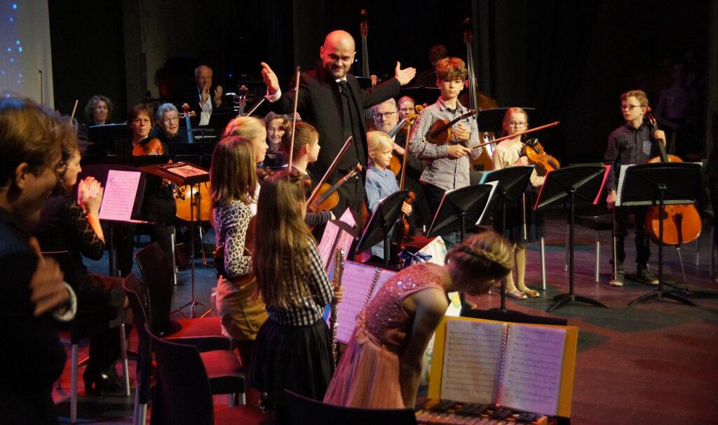 Jeugdorkest Leidsche Rijn treedt op met Orkest van Utrecht 27 dec 2018